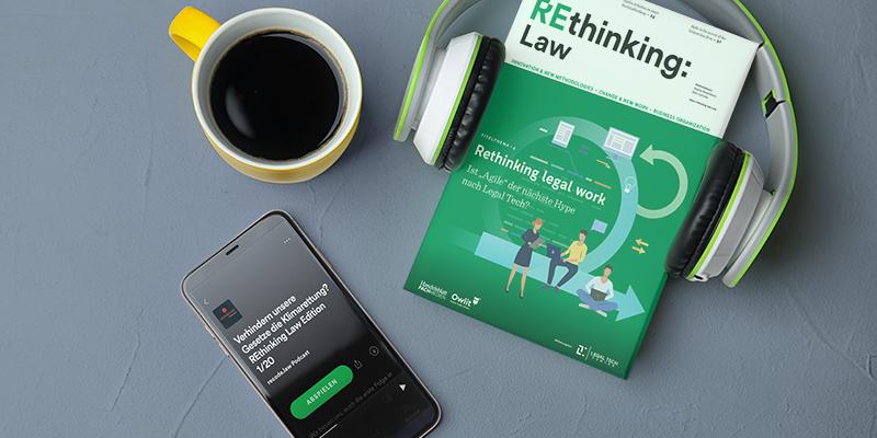 REthinking Law #03 mit Markus Richter und Sophie Reblin