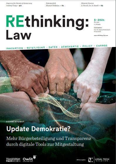 REREthinking Tax Ausgabe 3/2021 - Update Demokratie?