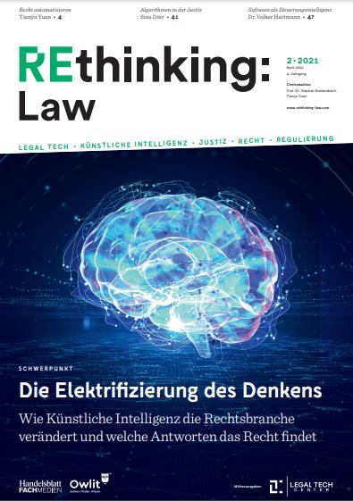 Rethinking Law Ausgabe 02 - Die Elektrifizierung des Denkens